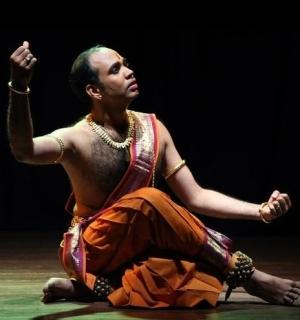 кучипуди в Петербурге, Елена Тарасова, индийский классический танец, Джайкишор Мосаликанти
