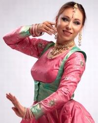 Хореограф Елена Тарасова, катхак, индийский классический танец, индийские танцы в Петербурге
