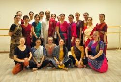 кучипуди в Петербурге, индийский классический танец, кучипуди,